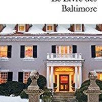 Le Livre des Baltimore - Joël Dicker